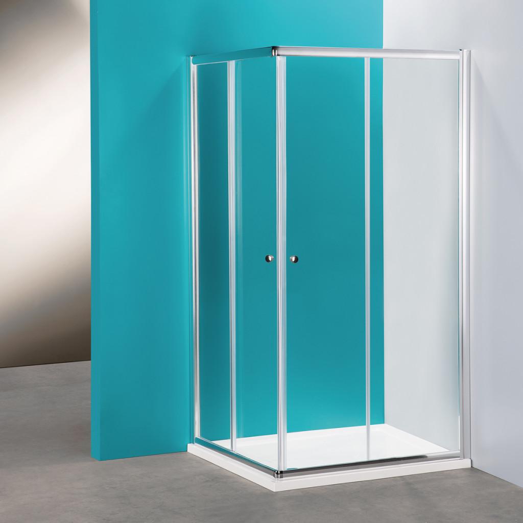 Box doccia angolare rettangolare