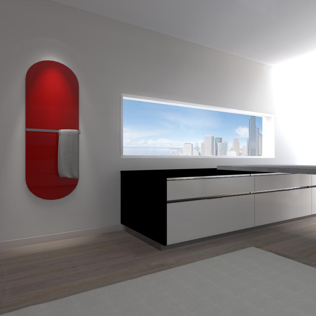 radiatore-in-vetro-glass-round-rosso-ambientato-01