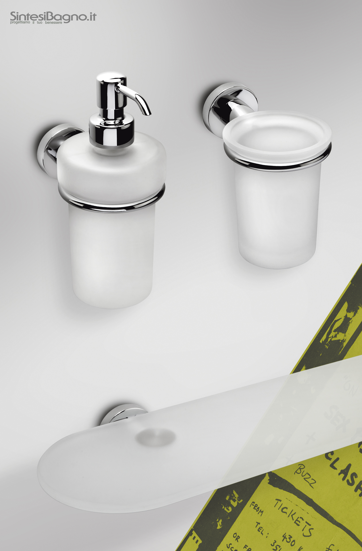 Gli accessori bagno a prezzo accessibile serie basic di for Accessori bagno di design