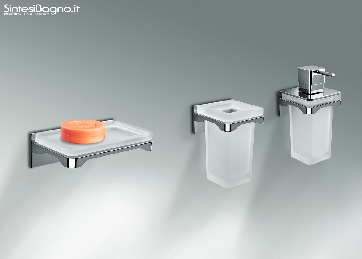 Gli accessori bagno serie forever di colombo design for Accessori bagno online