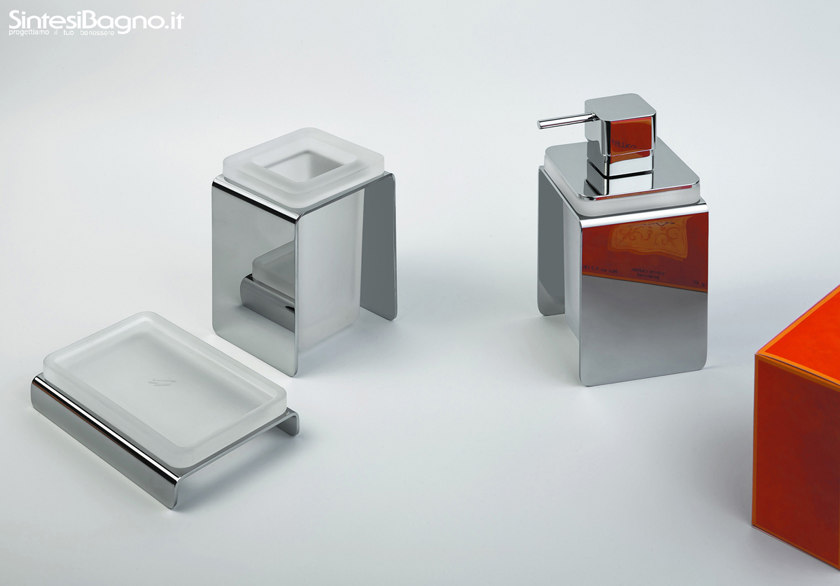 Gli accessori bagno serie forever di colombo design for Accessori design
