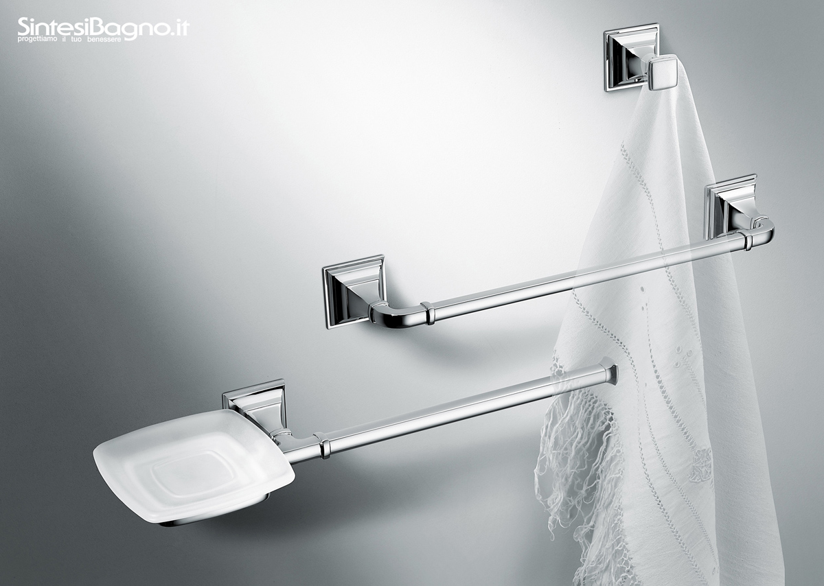 Gli accessori bagno classici portofino di colombo design for Bagno outlet online
