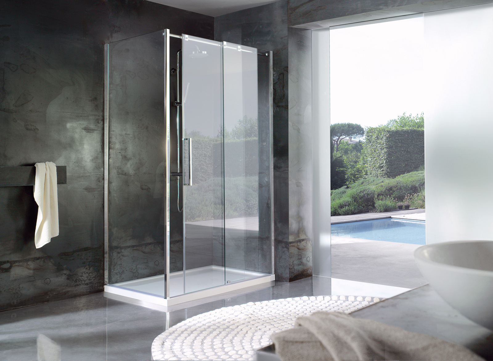 Tendaggi per interni rustici for Cabine doccia prezzi