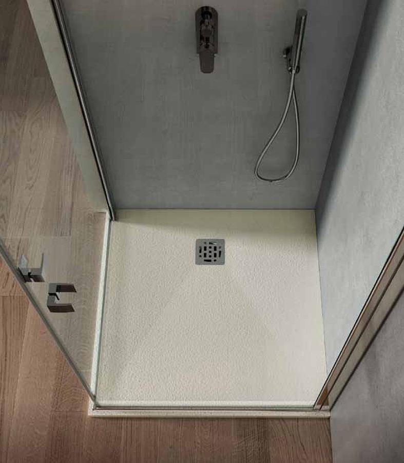 Piatto doccia CUPIDO quadrato finitura BIANCO