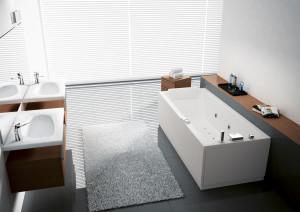 Vasca da bagno NOVELLINI modello CALOS PLUS