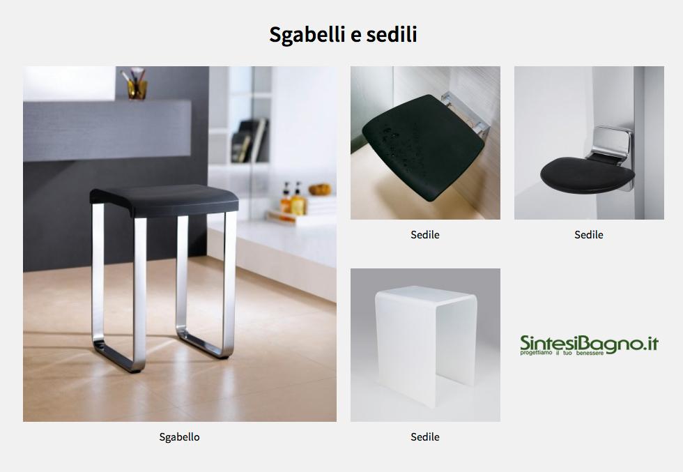 Novellini non solo box e cabine doccia arredobagno news - Sgabelli da bagno ...