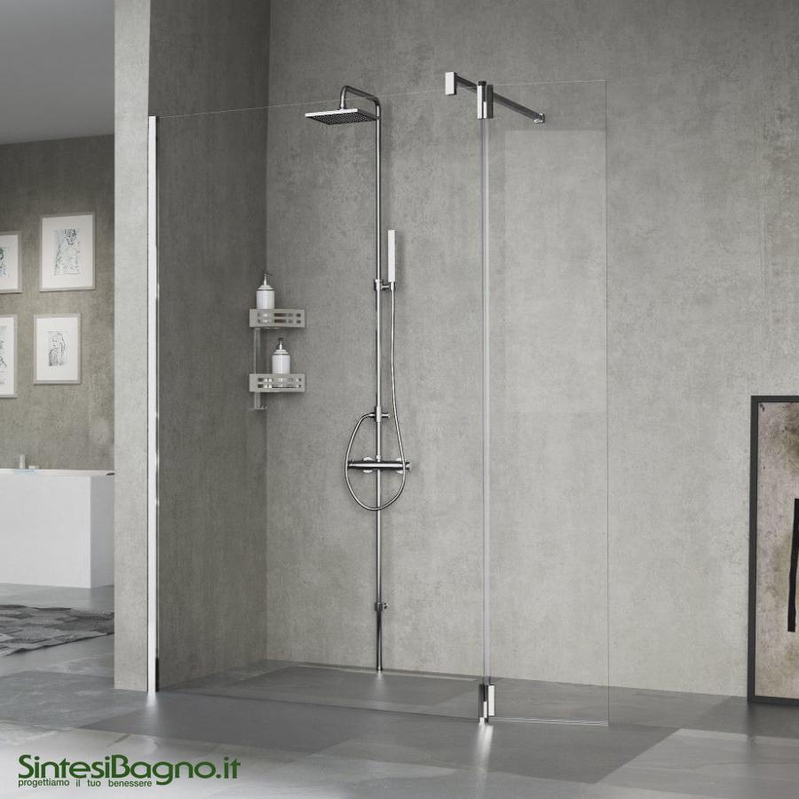 Colonna doccia attrezzata NOVELLINI serie EASY 1