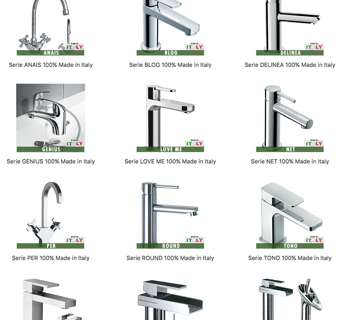 La convenienza delle rubinetterie Made in Italy