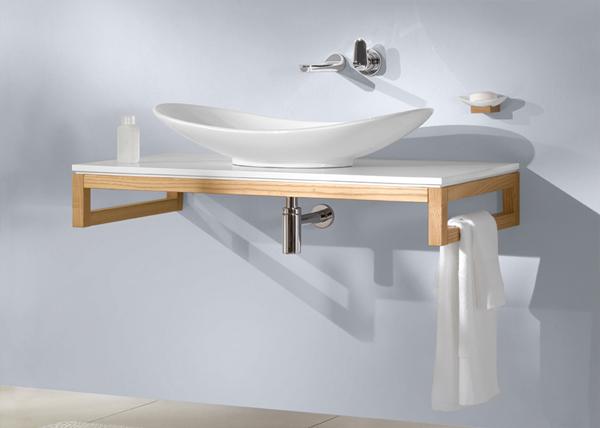 Ambiente bagno PREMIUM MY NATURE di Villeroy & Boch mobili da bagno ...