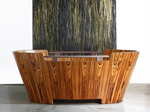 DESIDERIO. Una vasca in legno per sognare.