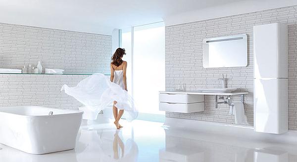 Puravida duravit la nuova leggerezza nel bagno arredobagno news - Vasche da bagno dolomite ...