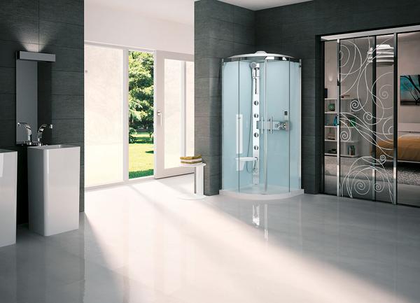Cabine doccia archivi arredobagno news - Cabina doccia con sauna e bagno turco ...