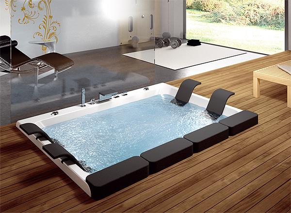 Vasca Da Bagno Grande Dimensioni : Vasche da bagno incassate vasca da bagno in acrilico da incasso
