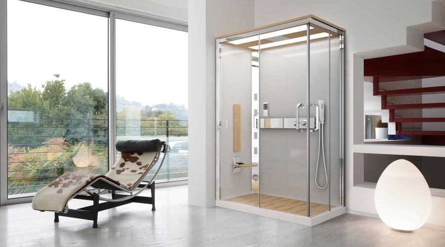 Cromoterapia e cabine doccia arredobagno news - Cabine doccia teuco ...