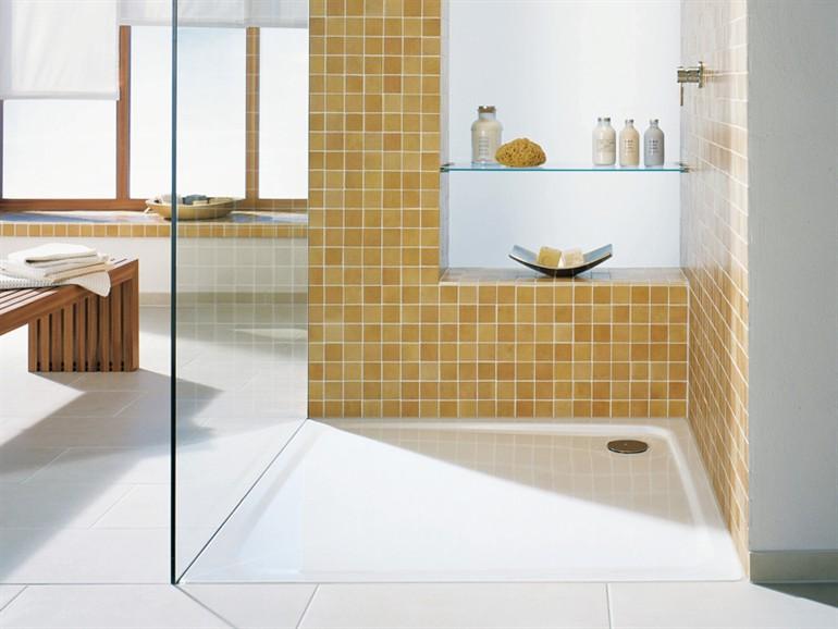 Superplan piatto doccia filo pavimento arredobagno news - Posare un piatto doccia ...