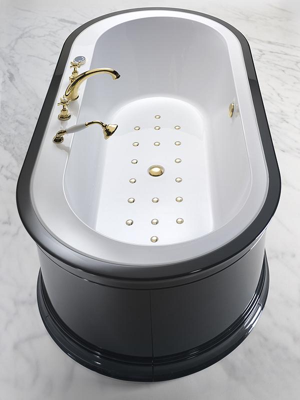 Yuma style la prima vasca new retr firmata blubleu - Vasche da bagno dolomite ...