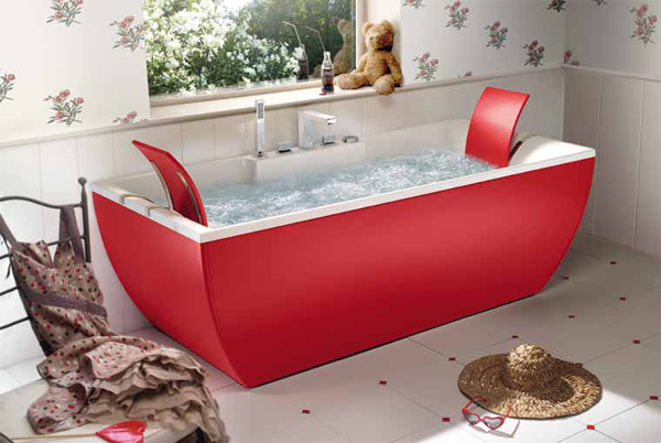 I free color di blubleu arredobagno news - Vasche da bagno dolomite ...
