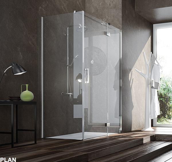 Plan e york eleganza e linearit nei nuovi box doccia in alluminio firmati blubleu - Box doccia globo ...