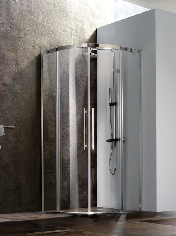 Modus nuovi box doccia in alluminio e cristallo di blubleu arredobagno news - Box doccia globo ...