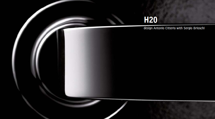 Accessori Bagno > Inda > Serie H2O > Design Antonio Citterio e Sergio Brioschi