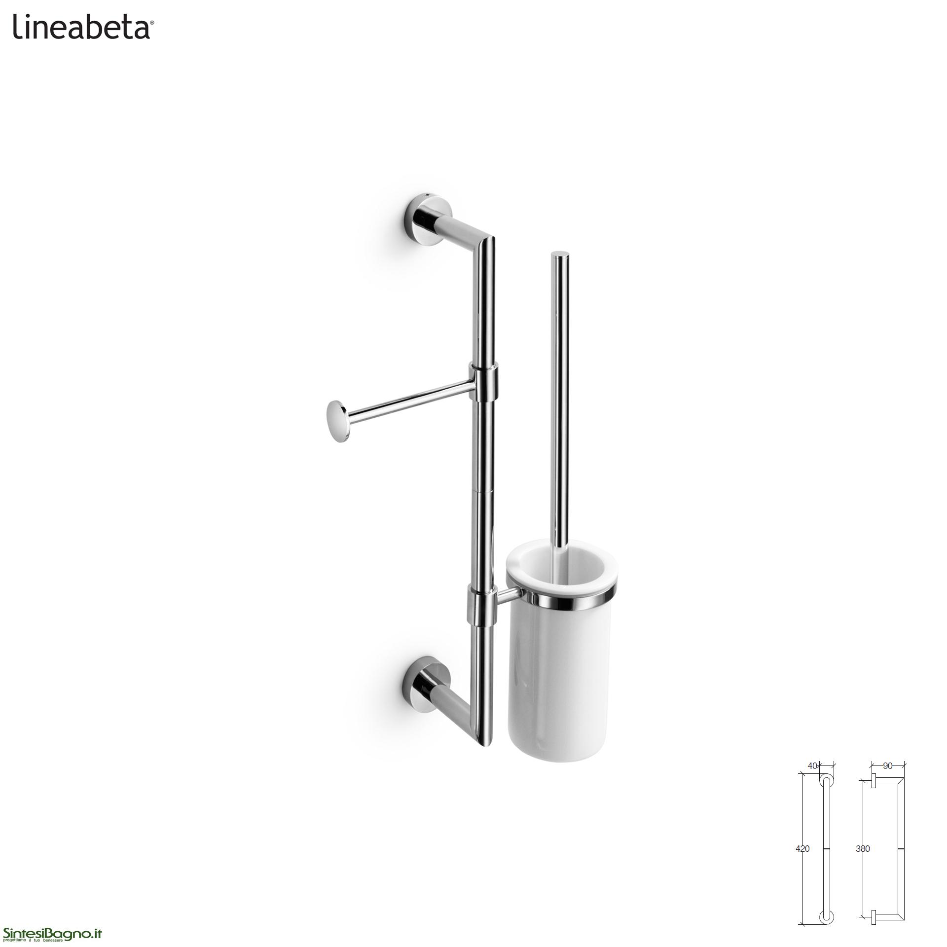 Barre attrezzabili per accessori bagno