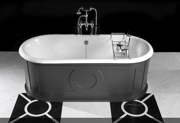 Vasche da bagno classiche archivi arredobagno news - Vasche da bagno retro ...