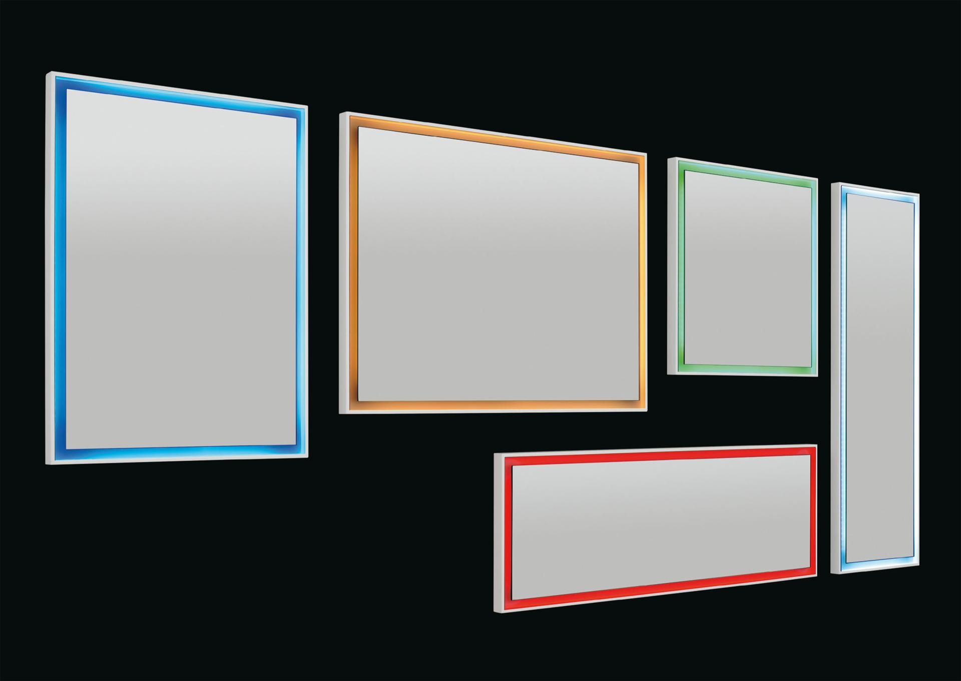 Le nuove specchiere LED di Vanita&CASA