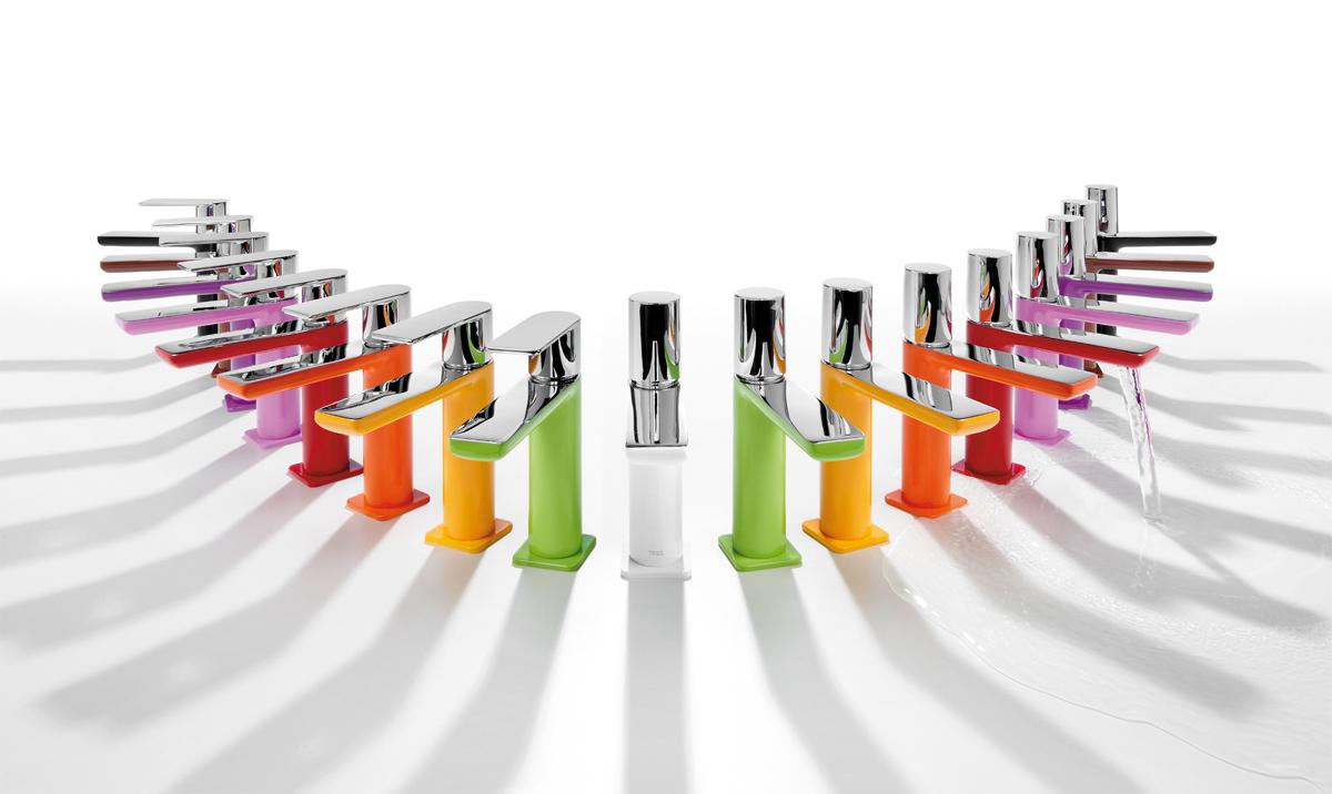 Rubintetti colorati rubinetterie TRES
