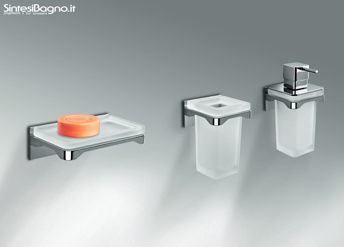 Gli ACCESSORI BAGNO serie FOREVER di COLOMBO Design - ARREDOBAGNO NEWS