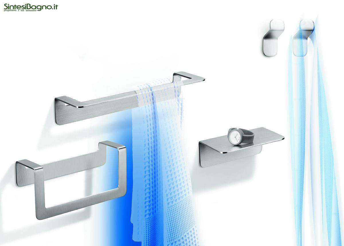 Gli ACCESSORI BAGNO serie OVER di COLOMBO Design - ARREDOBAGNO NEWS