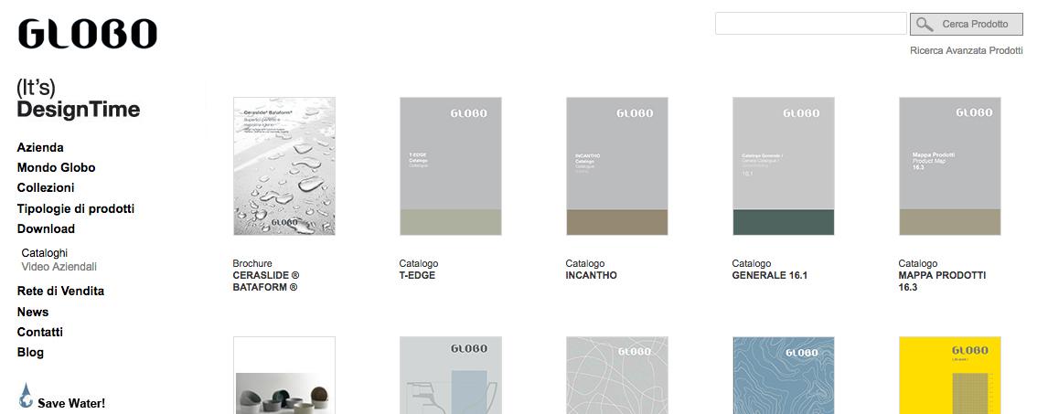 Nuovo Catalogo Generale Ceramiche Globo