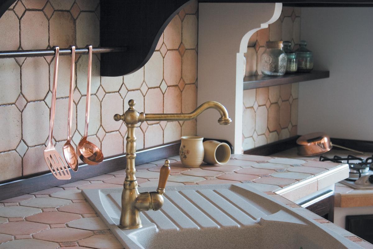 Miscelatore per lavello serie Orta di Gattoni Rubinetteria