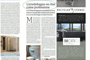 L'arredobagno on-line come prefessione