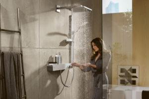 Miscelatore termostatico hansgrohe Shower Tablet 600: la soluzione ideale per bimbi e anziani