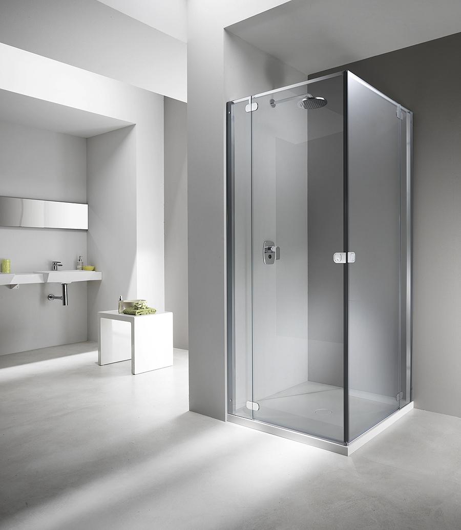 Flat linea di cabine doccia senza telaio di provex arredobagno news - Box doccia senza piatto ...