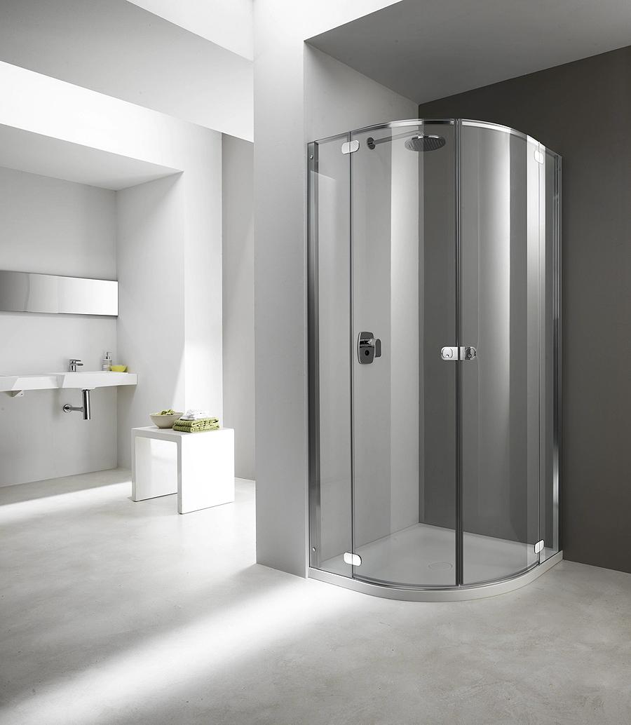 Flat linea di cabine doccia senza telaio di provex arredobagno news - Box doccia senza telaio ...