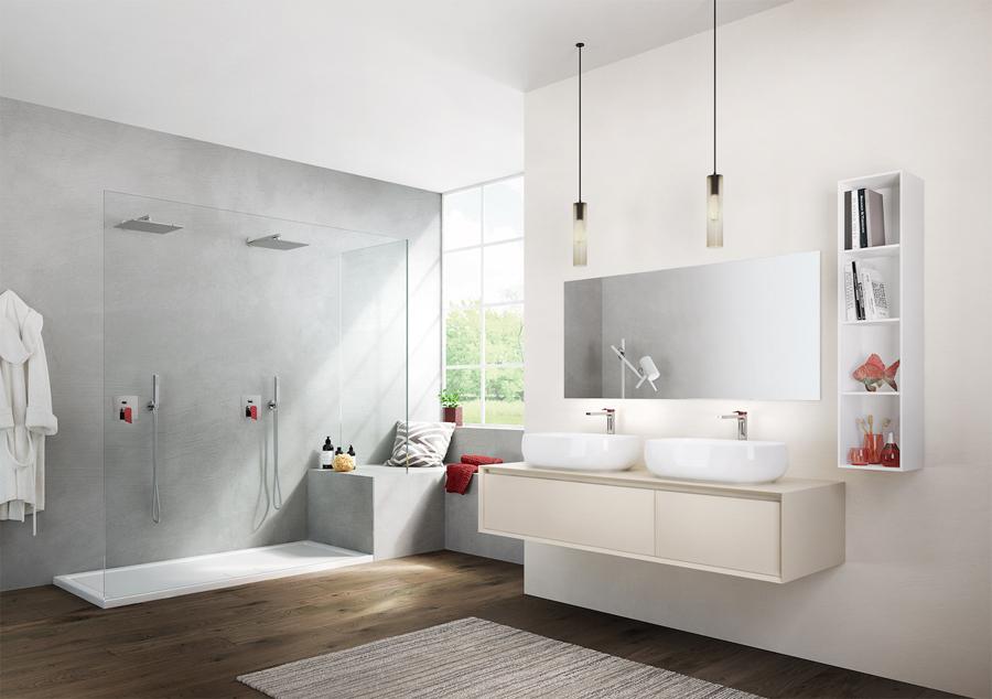Soffio di Gattoni Rubinetteria. Nuovi canoni estetici per il bagno contemporaneo