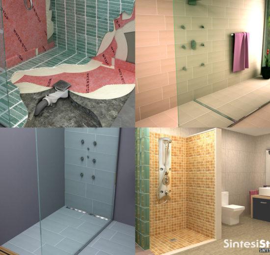 Come realizzare isolamento e impermeabilizzazione per i piatti doccia