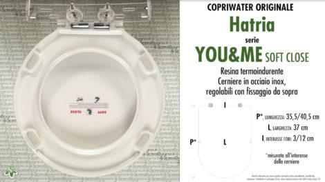 Sanitari/COPRIWATER HATRIA serie YOU&ME