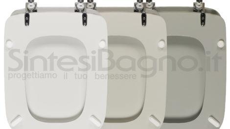Del famoso colore Bianco Ideal Standard ne abbiamo appena parlato. Adesso sappiamo cos'è il bianco Ideal standard. Lo riportiamo per farvi fare attenzione a un altro colore. Se il vostro vaso Conca è realmente grigio e non solo leggermente sfumato allora molto probabilmente sarà il colore Grigio sussurato.