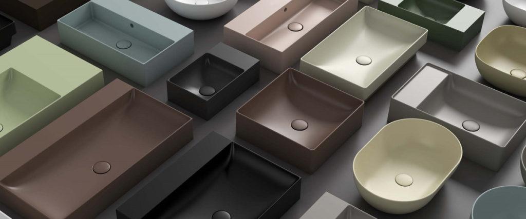 Bagno di colore Ceramica Globo