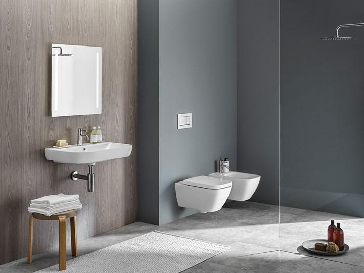 Geberit Smyle. Collezione completa e modulare di lavabi, sanitari, mobili e complementi d'arredo