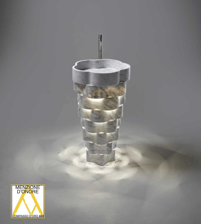 Il lavabo INTRECCIO ha ottenuto la Menzione d'Onore - XXVI Compasso d'oro 2020