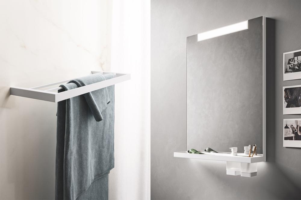 Linea accessori bagno INDISSIMA by INDA (design Matteo Thun e Antonio Rodriguez)