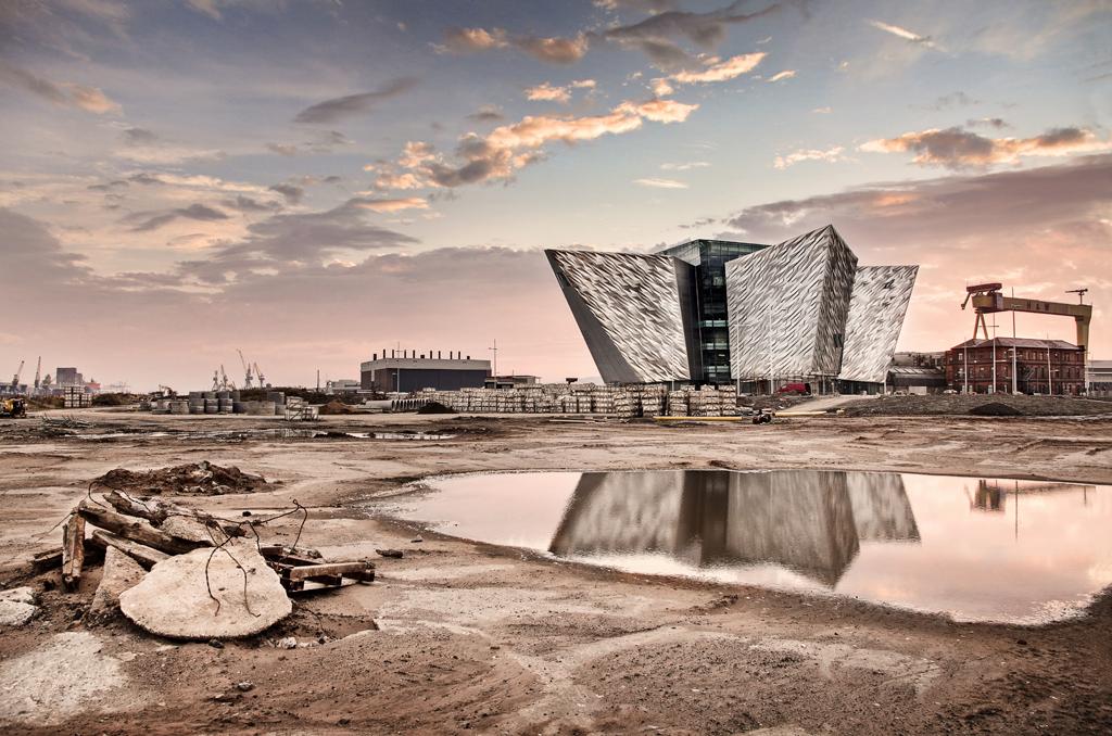 Il Titanic Belfast in Irlanda del Nord