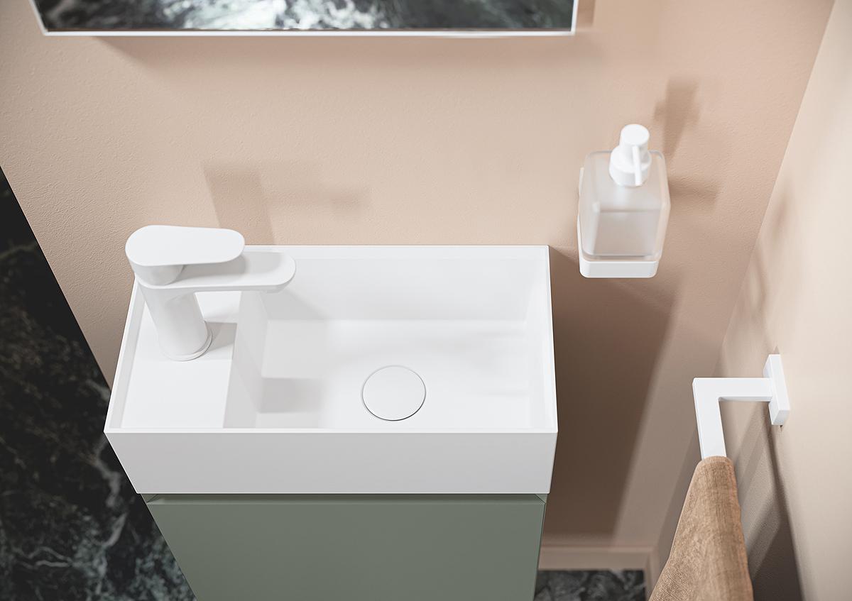 Mobile da bagno INDA serie LILLIPUT 45: mignon e colorato!